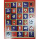 Texaco The Great British Regiments Badge Collection 1970s in Folder
