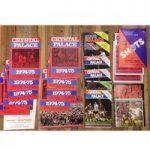 Crystal Palace Programmes x 20 (Various)