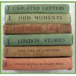 "Six titles from the series""John O'London's Little Books."""