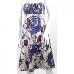 Coast – Size: 12 – Multi-coloured – Strapless dress