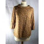 White stuff-blouse top-size 10- brown multi white stuff – Size: 10 – Brown