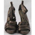 Shwopped by Tulisa BNWT New Look, size 5 metallic brown platform sandals